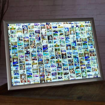 Personalised Special Memories Montage Film Strip Art