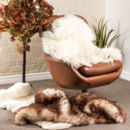 Large Sheepskin Rug In Various Colours