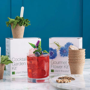 Grow Your Own Cocktail Garden And Gourmet Flower - birthday gifts