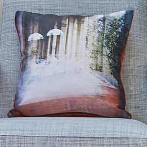 'Thermal Imaging' Luxury Handmade Photo Cushion