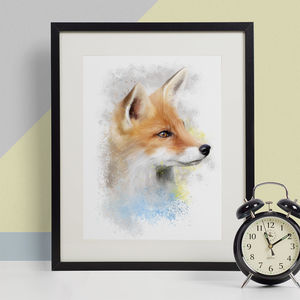 Fox Animal Print, Wildlife Art Print