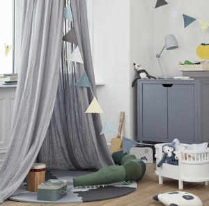 Organic Cotton Canopy - baby's room