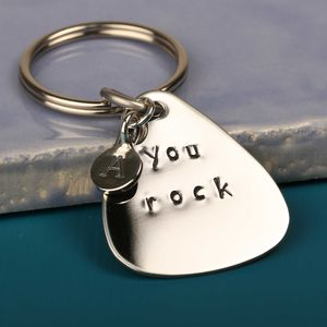 'You Rock' Plectrum Keyring - plectrums
