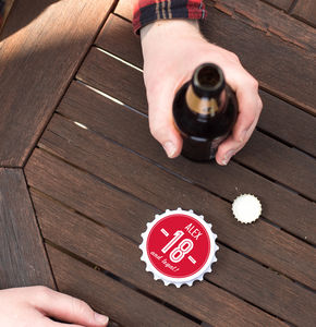 Personalised Birthday Bottle Opener - drink & barware