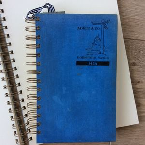 'Adele And Co' Upcycled Notebook