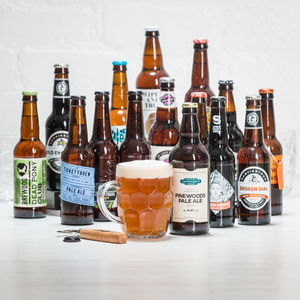 15 Brilliant British Beers - top 50 drinkable gifts