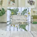 Happy Mothers Day Floral Yellow Daisy Card