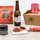 Man Box Beer And Chilli Gift Set