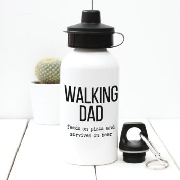 Personalised 'Walking Dad' Water Bottle
