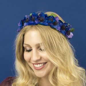Anemone Floral Crown