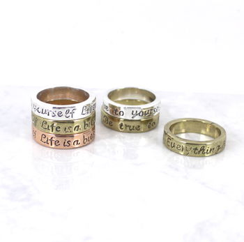 Message Stacking Ring