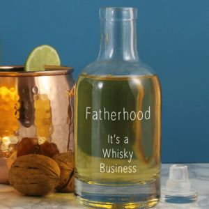 'Fatherhood, It's A Whisky Business' Decanter - best gifts for fathers