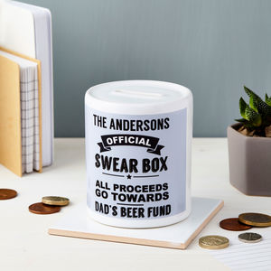 Personalised Swear Box - kitchen