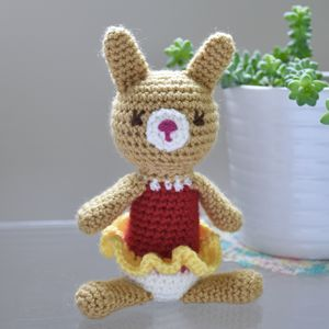 Amigurumi Lucy The Rabbit - whatsnew