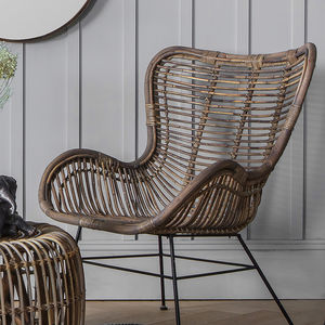Rattan Lounger Chair - chairs