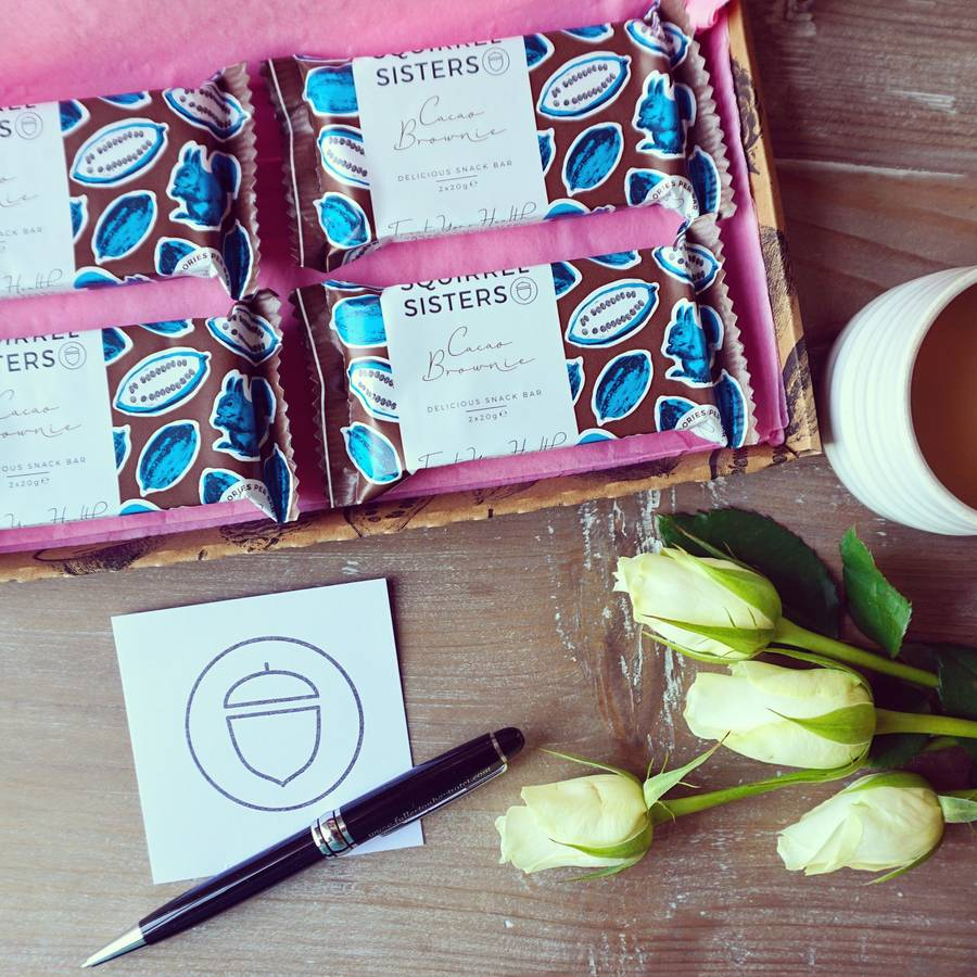 Cacao Brownie Snack Bar Gift Box