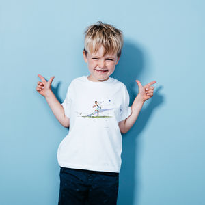 Aguero : Kids Man City Tshirt - new lines added