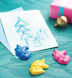 Unicorn Crayon Stocking Filler