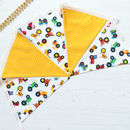 Terrific Tractors Cotton Bunting