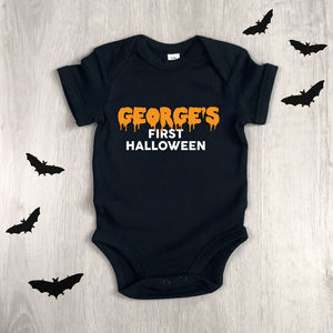 Baby's First Halloween - babygrows