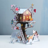 Festive Treehouse Advent Calendar - christmas decorations
