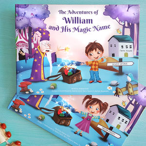 Personalised Keepsake Story Book With Exclusive Cover - books