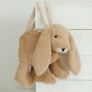 Soft Toy Bunny Bag