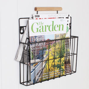 Country Style Hanging Magazine Wall Store