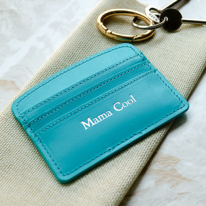 'Mama Cool' Leather Card Holder