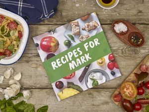 Personalised Healthy Cookbook - cookbooks & stands