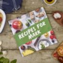 Personalised Healthy Cookbook