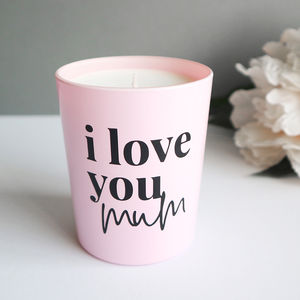 Mother's Day Scented Candle