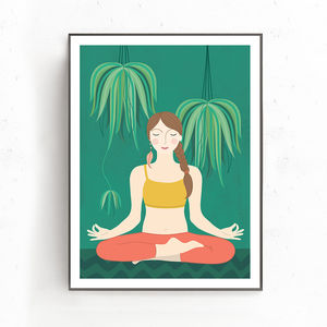 Yoga Poser Print - view all new