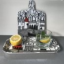 The Sea Illustrated Serving Tray