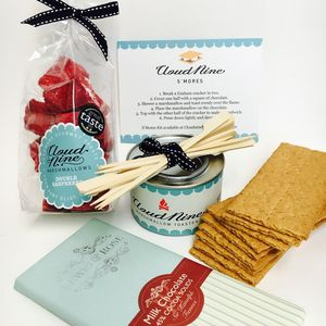 Cloud Nine Marshmallows' Luxury S'mores Kit - make your own kits