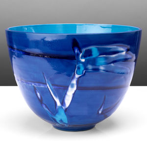 Handmade Blue Turquoise Ceramic Bowl - tableware