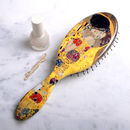Gustav Klimt's 'The Kiss' Hair Brush