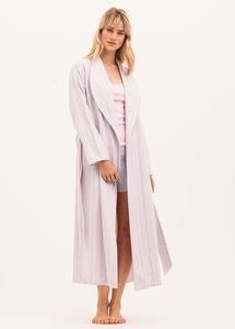 Brushed Cotton Dressing Gown: More Colours Available