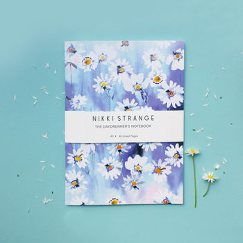 Daisy Chain A5 Notebook With Lined Pages