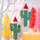 Cactus Fiesta Christmas Decorations