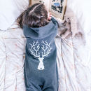 Personalised Reindeer Children's Onesie