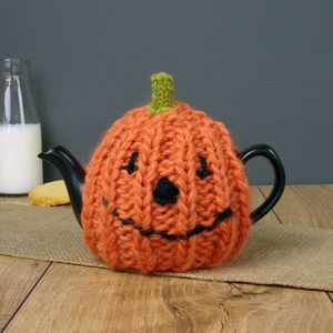 Two Cup Pumpkin Tea Cosy
