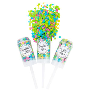 Tropical Confetti Flutter - party decoration kits