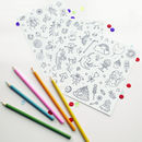 Kids Colour In Sticker Sheets