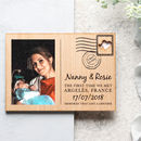 Wooden Photo Special Memory Postcard