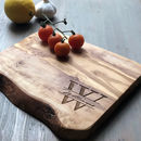 Personalised Monogram Engraved Serving Board