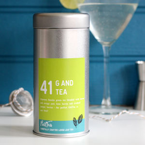 Gin And Tonic Tea Caddy Set - food & drink sale