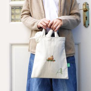 Personalised Monogram Easter Tote Bag