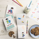 Personalised Notebook Bundles For Boys