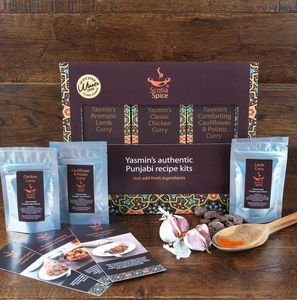Make Your Own Curry Recipe Kits Gift Pack